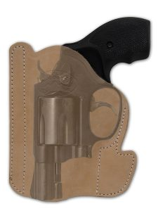 "Leather Gun Concealment Holster for 2"" Snub-Nose by Barsony Holsters"
