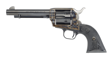 image of a black and grey colt single action