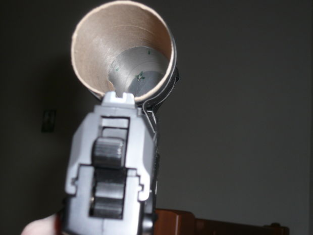 homemade shitty gun scope