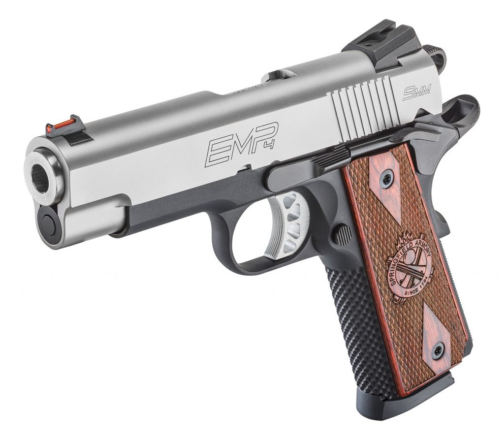 product image of a brand new springfield armory emp champion steel silver in 2017