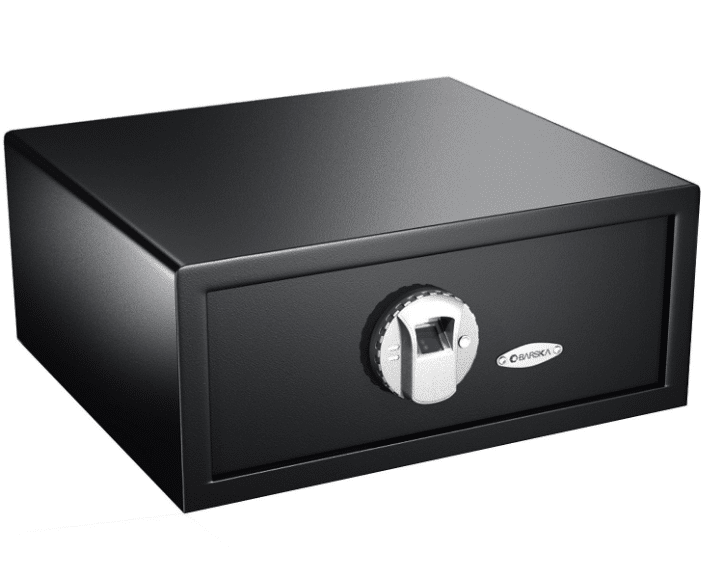 image of Barska Biometric Gun Safe black color in 2017