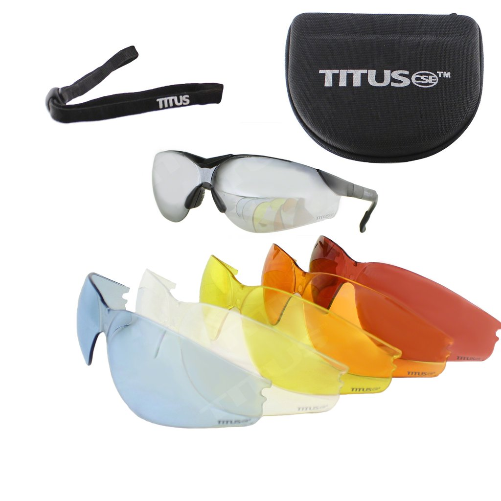 multi colors of safety glasses