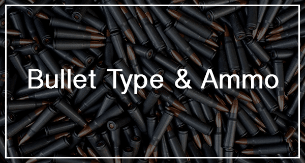 image of the different bullet and ammo types