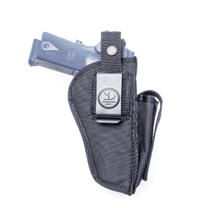 image of Outbags USA OB-04SC Nylon OWB Outside Pants Carry Holster w/ Mag Pouch