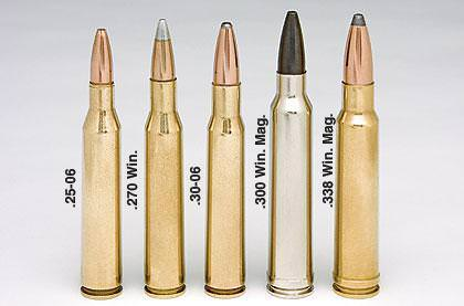 300 Win Mag Vs 30 06 Springfield Comparison Of Size Ballistics