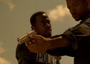 a picture of will smith holding a a sig p225