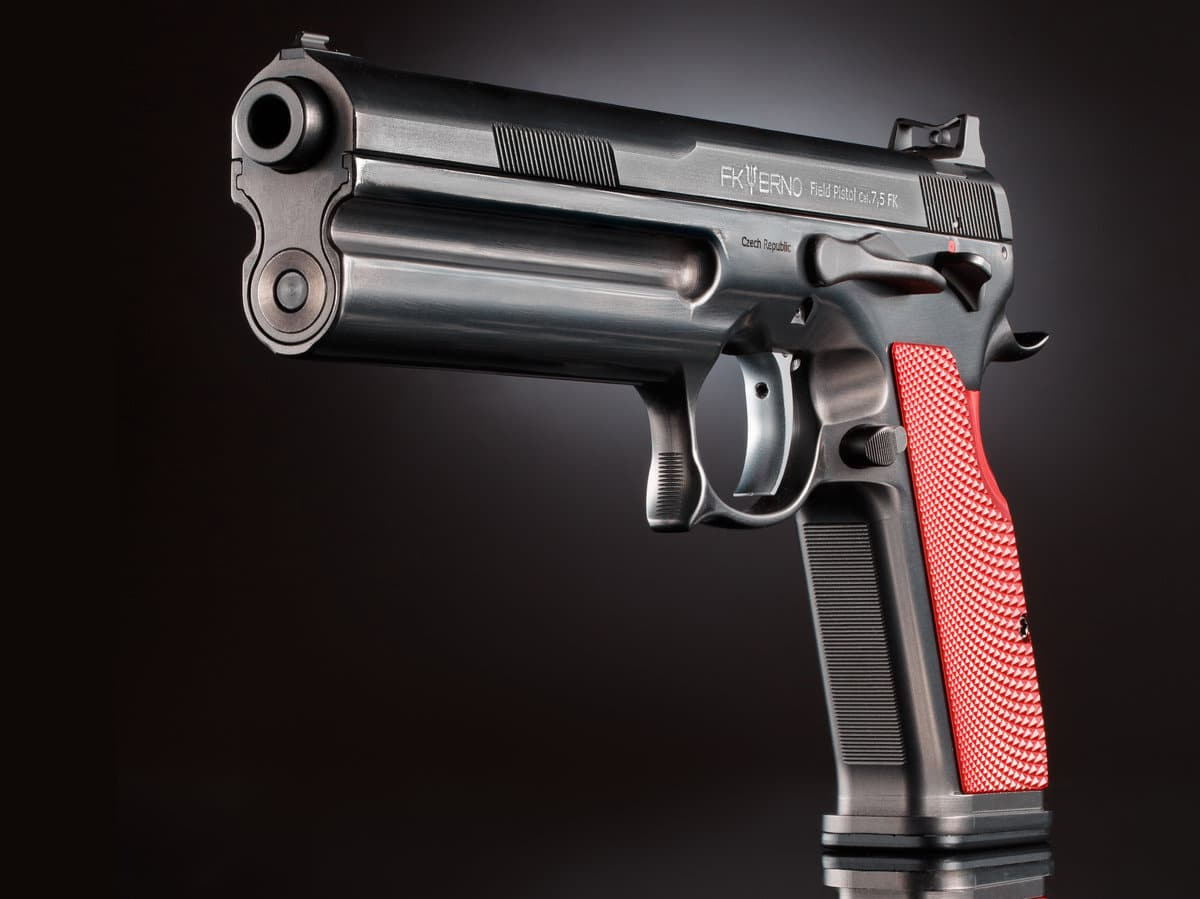 a picture of the fk field pistol