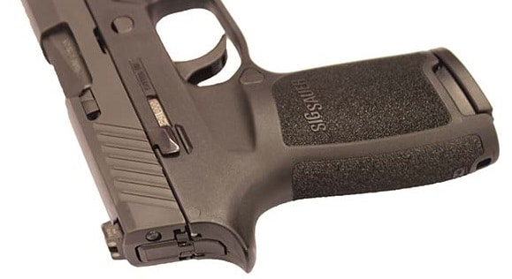 a picture of the SIG P320 grip contours