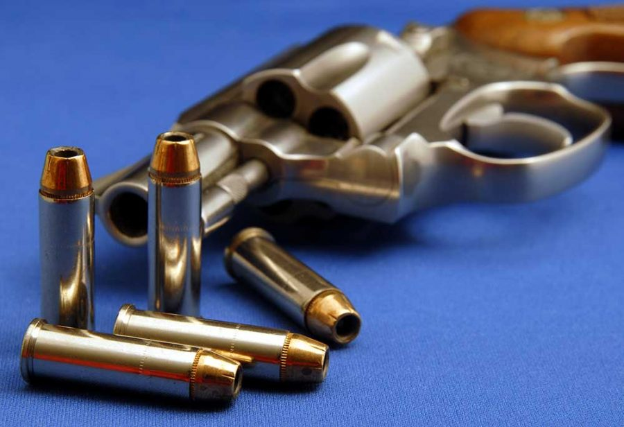 a picture of a 38 special revolver