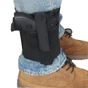 Ankle Holster With Padding And Elastic Secure Strap