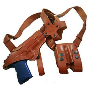 Armadillo Leather Shoulder Holster (Right Hand Draw)