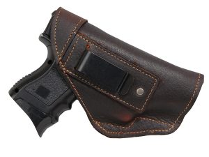 Barsony Brown Leather IWB