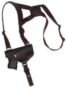 Barsony Leather Harness Shoulder Holster