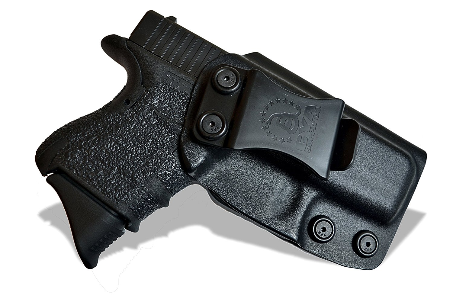 image of CYA Supply Co. IWB Holster with gun inside