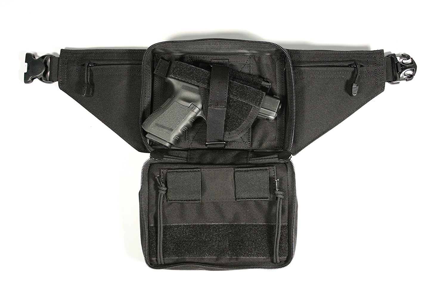 Nylon belt pouch holster