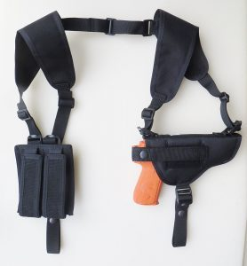 Federal Shoulder Holsters For Glocks Double Mag Pouch Horizontal Carry