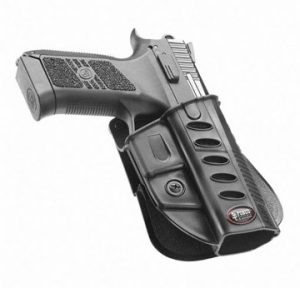 Fobus CZ-DUTY Black Belt Gun Holster BELT Holster for CZ 75 P-07 DUTY & P09.