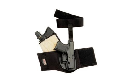 Galco AG800 Ankle Glove Holster for Glock 43 - RH Black