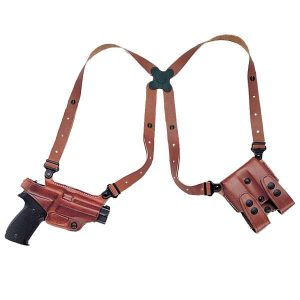 image of Galco Miami Classic holster with gun