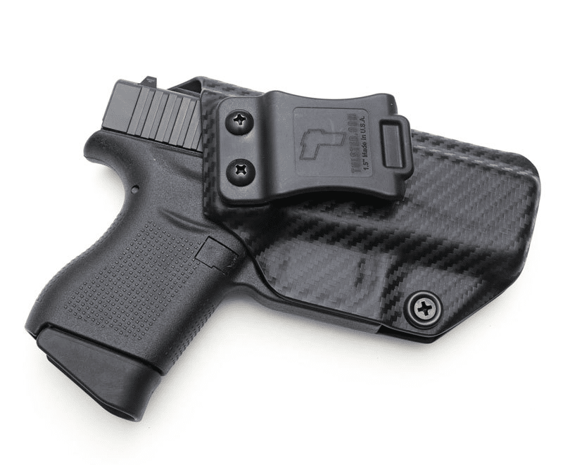 image of the Glock 43 IWB Tulster Profile kydex appendix Holster in 2017