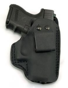 """image of the FIERCE DEFENDER IWB (INSIDE WAISTBAND) KYDEX HOLSTER SPRINGFIELD XDS 3.3″ """"WINTER WARRIOR SERIES"""" in 2017"""