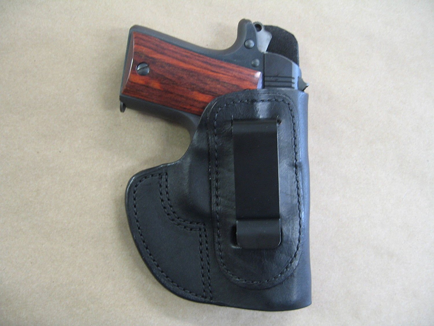 IWB Molded Leather Concealed Carry Holster by Azula Gun Holsters