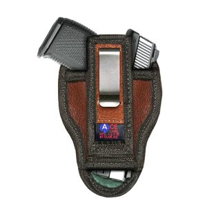 Leather Concealed IWB Holster by Ace Case