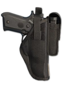 OWB Belt Holster with Magazine Pouch by Barsony Holsters and Belts