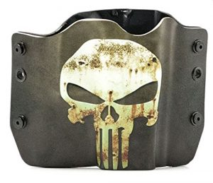 Punisher Green / Tan Kydex OWB holster