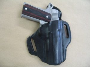 image of Azula Gun Holsters - Two Slot Leather Pancake Holster
