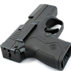Semi-Permanent Pistol-Mounted Clips