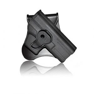 Tactical Hard Shell Paddle Pistol Holster by Cytac