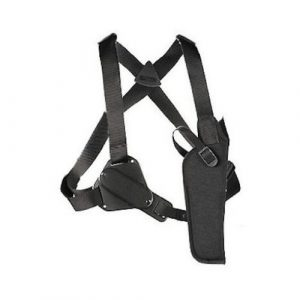 image of Uncle Mike's Black Kodra Nylon Sidekick Vertical Shoulder Holster