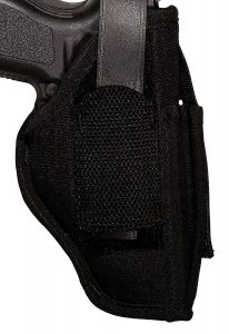 Uncle Mike's Kodra Nylon Sidekick Ambidextrous Hip Holster