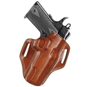 brown pancake holster