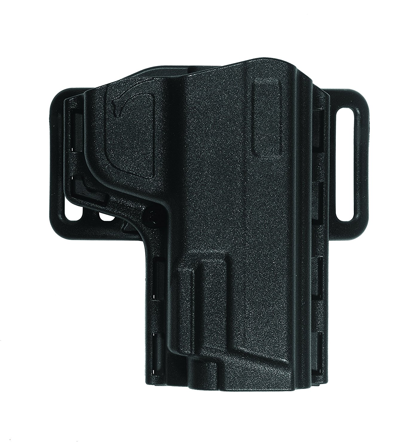 product image of a black uncle mike's open top reflex holster for sig sauer p220 right handed