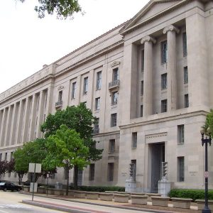 image of the Depart of Justice building