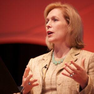 image of Kirsten Gilibrand speaking