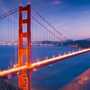 image of a bridge in california