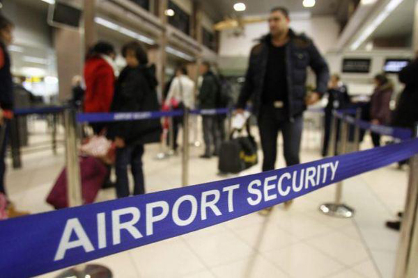 image of airport security