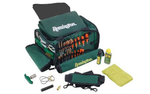 photo of the empty Remington Gun Cleaning Kit in green 2017