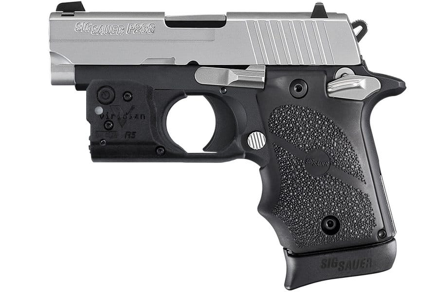 photo of the sig sauer p238 for review by me