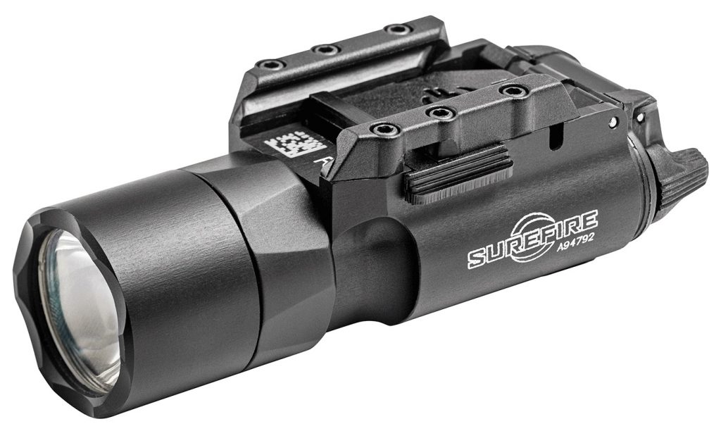 image of the best SureFire X300 tac led flashlight attachment for your ar15