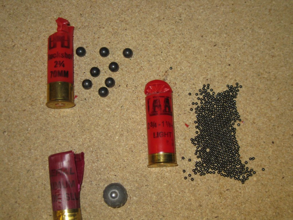 Image of different shotgun shells