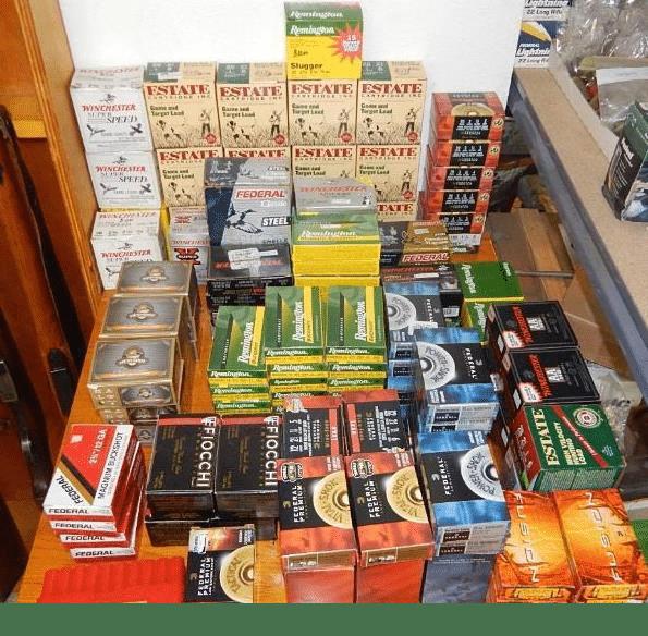 ammo purchased in bulk