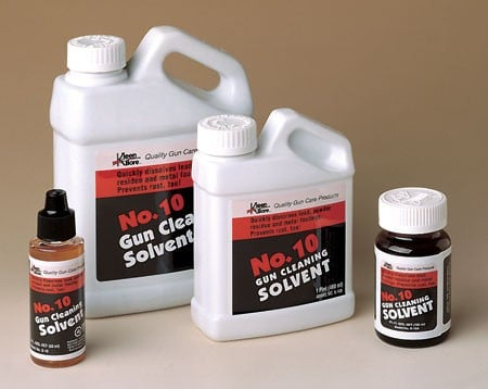 bottles of gun cleaning solvent no 10 in 2017