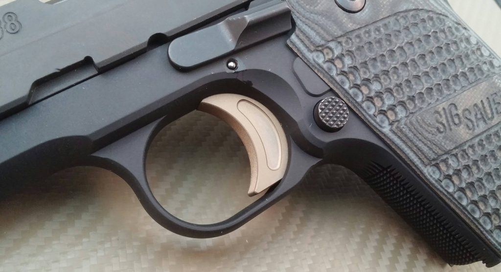 up close look at the sig sauer 238 trigger function