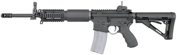 image of the rock river arms ar15 rifle side shot