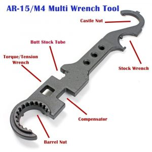 image of the tools required for an ar 15