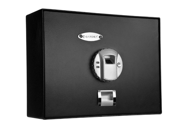image of the Barska Top Opening Biometric Safe